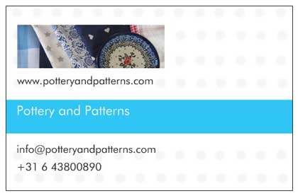 Pottery and Patterns